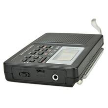 Dijital radyo çalar saat uyku zamanlayıcı fonksiyonu pil kumandalı Stereo radyo AM/FM/SW PUO88