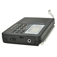 Rádio digital com despertador função temporizador dormir rádio estéreo a pilhas am/fm/sw puo88