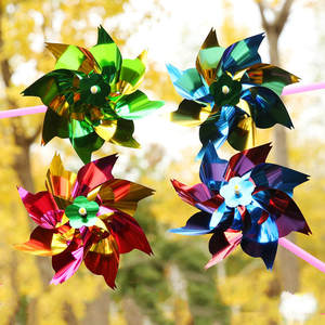 Garden-Toys Windmill Decoration Moulin-A-Vent Children Kids Gift DIY for Outdoor-Toy