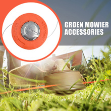 M10 Aluminum Nylon Brush Mower Bump Spool Grass Trimmer Replacement Strimmer Head 2 Lines Cutter Head Thread String Saw Brush