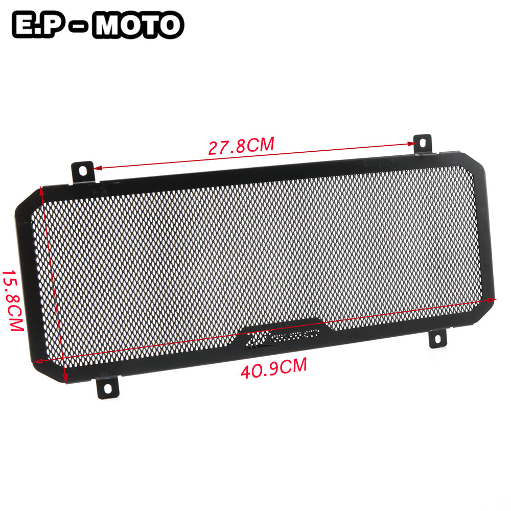 Motorcycle Radiator Grille Guard Cover Protector For Kawasaki Z650 2017 2018 2019 in Covers Ornamental Mouldings from Automobiles Motorcycles