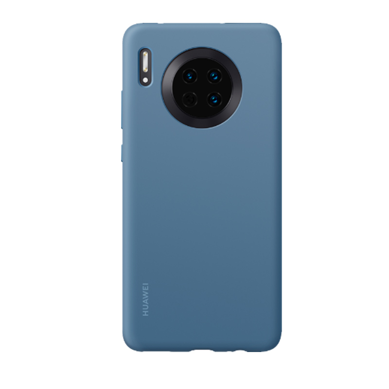 Image 5 - オリジナル Huawei メイト 30 メイト 30 プロシリコンケースソフト裏表紙と繊維内部キャパため Mate30 Mate30 プロフィットケース   -