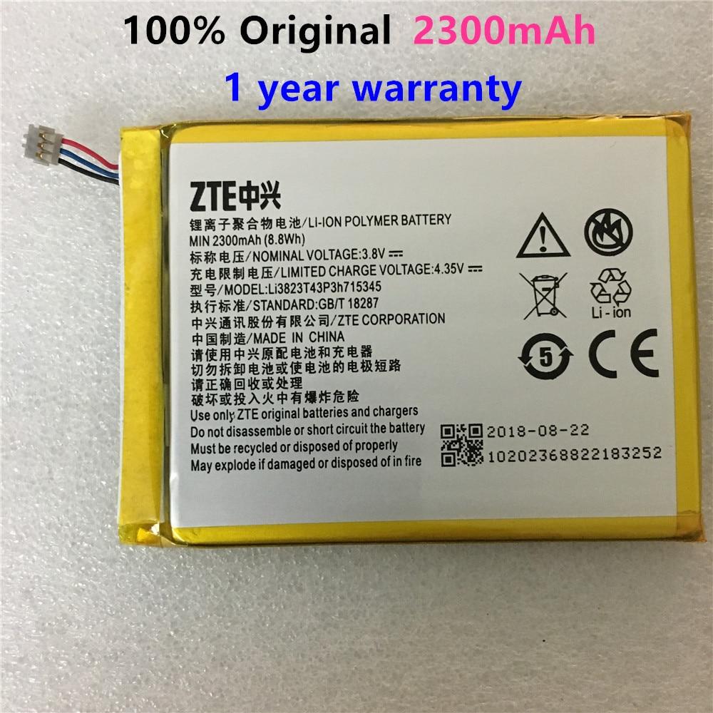 3.8V 2300mAh LI3823T43P3h715345 Para Zte grande S Flex/Para ZTE MF910 MF910S MF910L MF920 MF920S Bateria