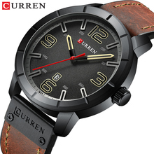 Relogio Masculino CURREN Luxury Brand Analog Military Business Wristwatch with Date Men #8217 s Quartz Watch Mens Clock Relogio Homem cheap Bracelet Clasp 25cm Fashion Casual 3Bar Alloy 13mm Hardlex C-8327 24mm ROUND Paper Leather Water Resistant Shock Resistant