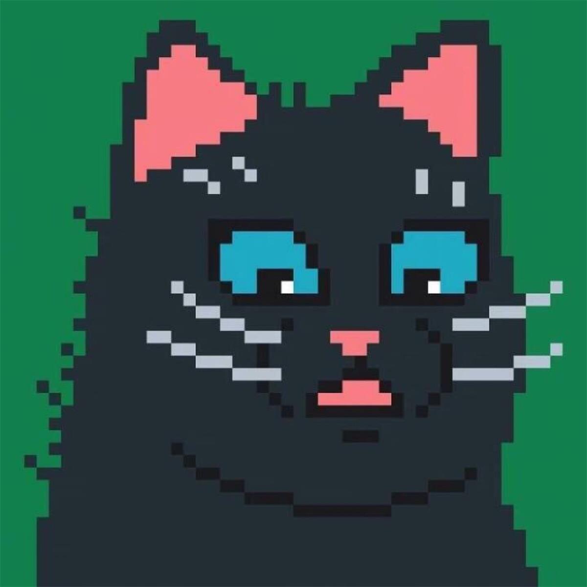 像素猫高清情侣头像 第19张