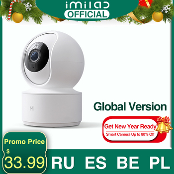 Global Version IMILAB 016 IP Camera Baby Monitor Smart Mi Home App 360° 1080P HD WiFi Security CCTV Surveillance - discount item  64% OFF Video Surveillance
