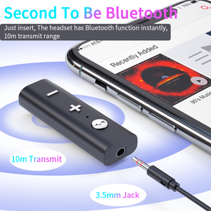 Image 2 - Essager Bluetooth 5.0 Receiver For 3.5mm Jack Earphone Wireless Adapter Bluetooth Aux Audio Music Transmitter For Headphone