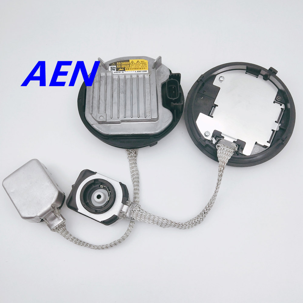 New for Lexus LX RX GS RX LS IS 350 Subaru Outback Toyota HID Xenon ballast with D4S bulbs kit Control Unit KDLT004 85967-22080