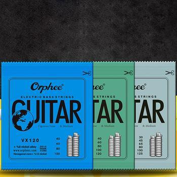 Elektryczna gitara basowa struny struny do gitary basowej 4 5 6 struny konwencjonalna elektryczna gitara basowa seria (kolorowa plastikowa torebka) tanie i dobre opinie CN (pochodzenie)
