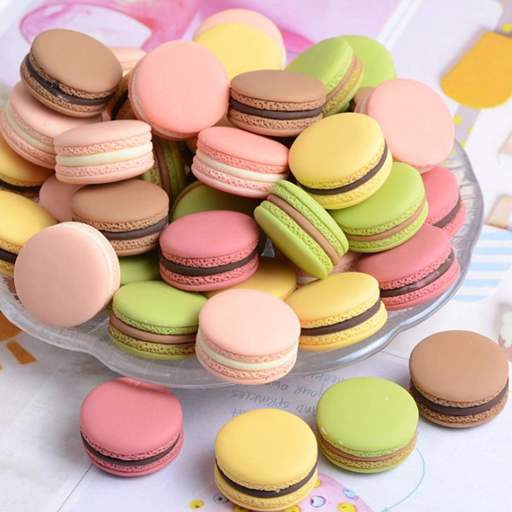 1pcs Food Photography Decor Simulation Fake Macaron Props Food Model Dessert Table Snack Decoration Artificial Cake Home Decor