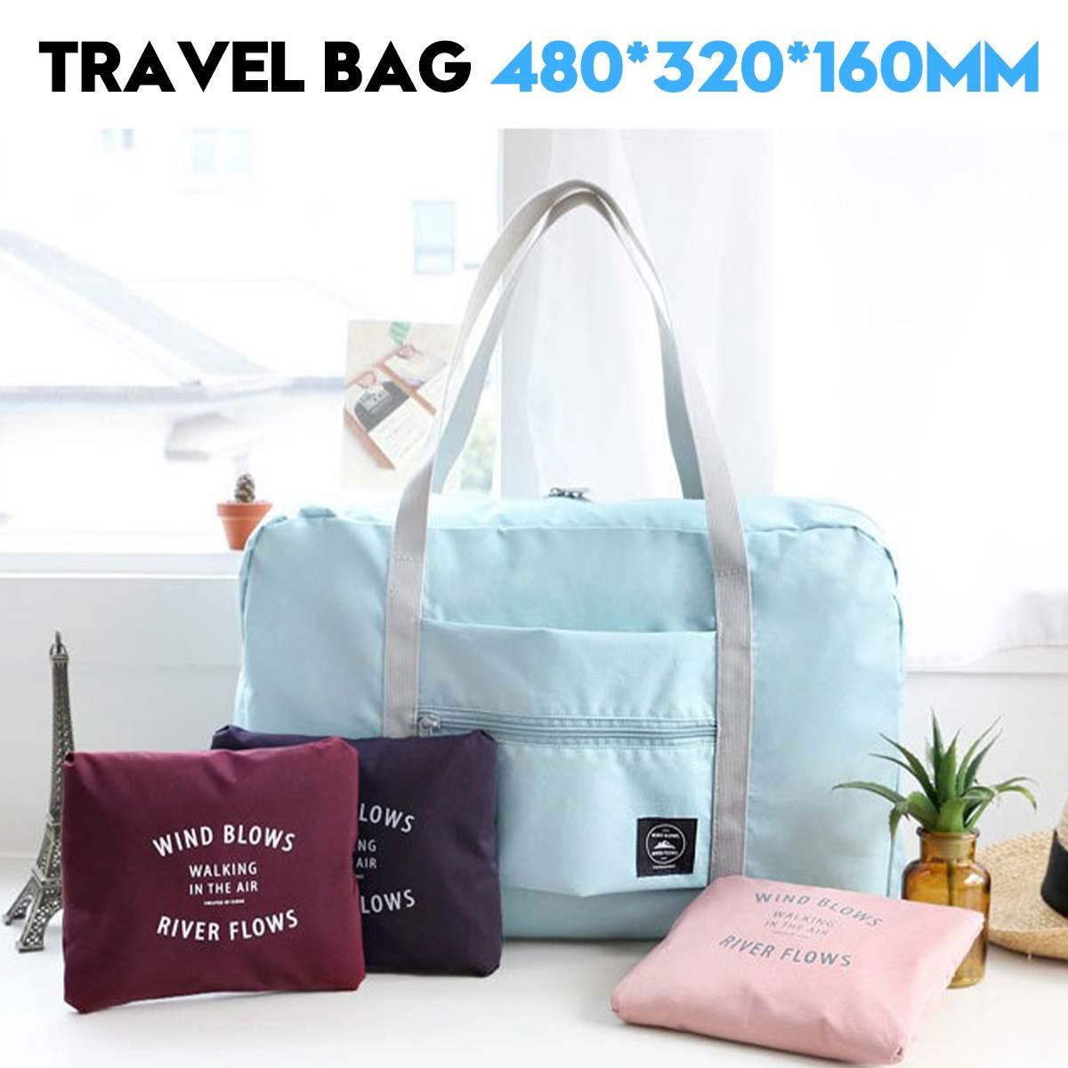 Waterproof Oxford Cloth Tote Duffle Bag Shoulder Handbag Luggage Unisex Large Capacity Travel Gym Sport Bags
