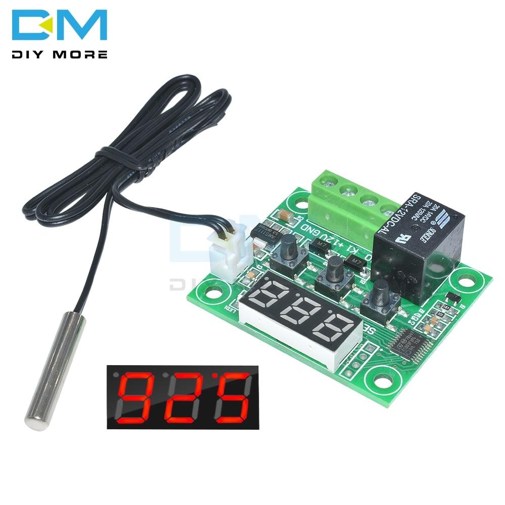 Mini W1209 Digital Thermostat Temperature Control Switch Sensor Module 12V