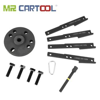 MR CARTOOL Camshaft Timing Injector Cam Gear Puller Tool Kit For Cummins ISX QSX 3163021 3163069 Camshaft Timing Wedge Tool