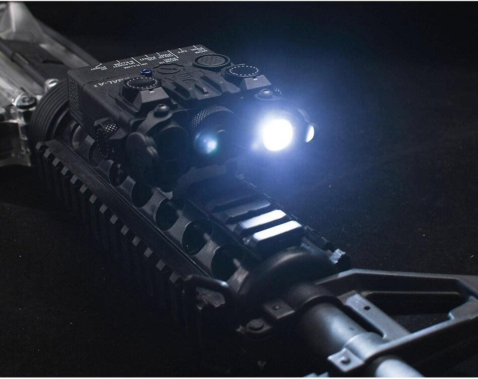 & vermelho com mira laser led iluminação