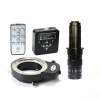 1080P 60FPS 2K 21MP 100X 180X 300X C Mount Lens HDMI USB Industrial Electronic Digital Video Microscope Camera PCB Soldering