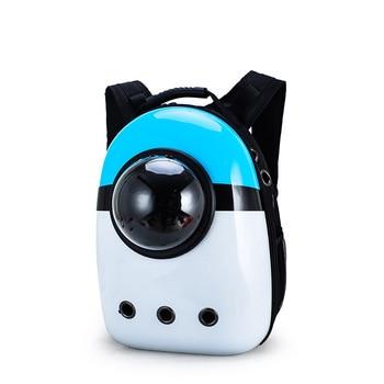 14 colors New Capsule Pet Bag Backpack Breathable Space Pet Backpack Sac De Transport Pour Chat Waterproof Traveler Knapsack - Color 6