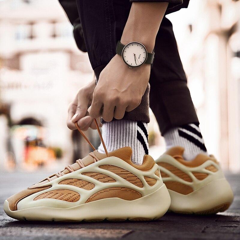 Sapatos masculinos fashions tênis 700 tênis de corrida masculino velocidade malha original luxo treinador tênis corrida dos homens respirável sapatos casuais