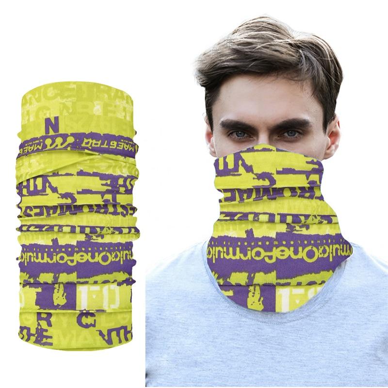 Купить новый стиль мужской головной платок с надписью веселая арт бандана