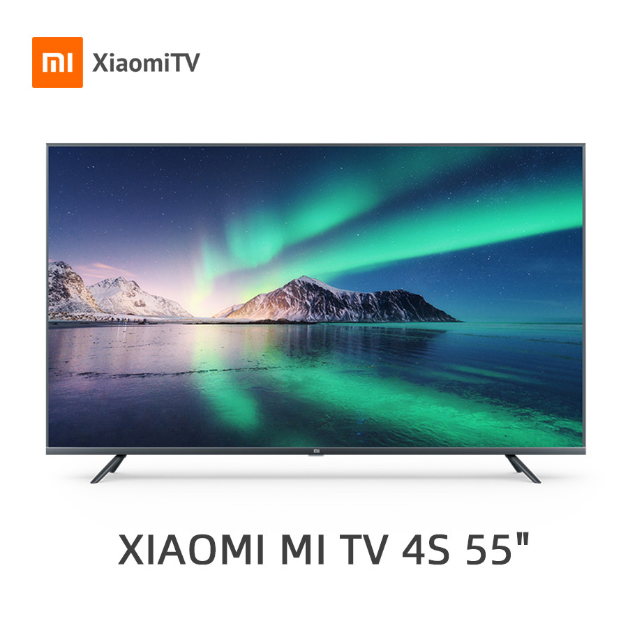 Television Xiaomi Mi Tv Android Smart Tv 4s 55 Inches Full 4k Hdr Screen Tv 2gb 8gb Dolby Dvb T2 Global Version Tv Aliexpress