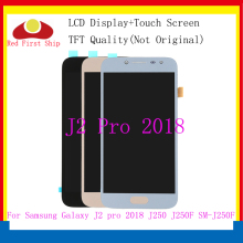 10Pcs/lot TFT LCD For Samsung Galaxy J2 Pro 2018 J250 SM-J250 Touch Screen Digitizer Assembly j2Pro Display