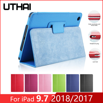 For iPad Air 2 / Air 1 9.7 Tablet PC Protective Case  Litchi Leather Case Generation Air 3 10.5 2019 9.7 2018 10.2 2019 Case кейс для ipad air и tablet pc 10 1 g form gctsl01ywe