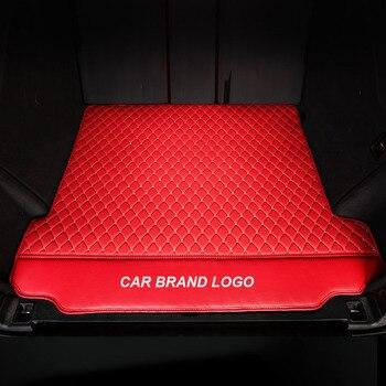 custom made car trunk mat For ford fiesta mk7 explorer 5 everest kuga 2008 fusion 2008 2014 2015 edge Accessories Carpet