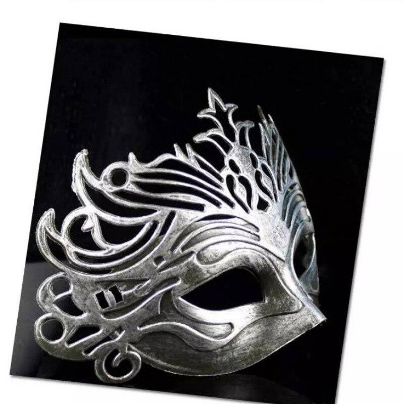 Vintage fête masque vénitien mascarade demi visage masques Halloween carnaval Cosplay Costume - 4
