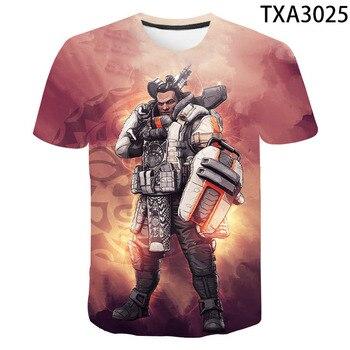 2020 New Summer 3D T Shirts Apex Legends Casual Men Women Children Fashion Short Sleeve Boy girl Kids Printed T-shirt Tops Tee 2