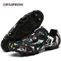 Кроссовки велосипедные унисекс, самоблокирующиеся, для горных велосипедов, обувь на плоской подошве, для гонок