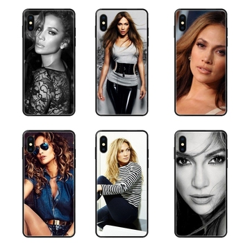 Usa Pop Star Sexy Jennifer Lopez Pattern Ebay Black Soft Multi Colors For Xiaomi Mi Max Mix Note 2 3 2S 5X 6X 10 CC9 CC9E Pro image