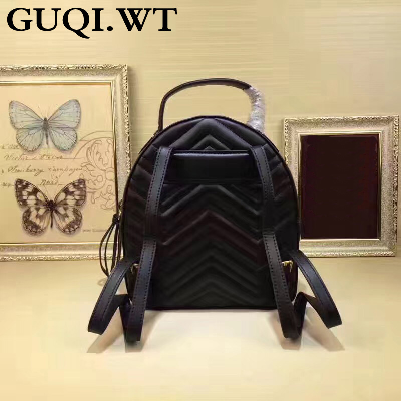 2020 Luxury Genuine Leather Women Backpack Fashion Shoulder Back Bag Preppy Style Backpacks For Teenage Girls School Backpack