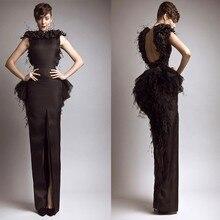 Викторианской готики свадебное одеяние де вечер кружева черное вечернее платье-2020 вечеринку платье одеяние де Mariage невесты на заказ платья