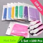100 PCS Disposable M...