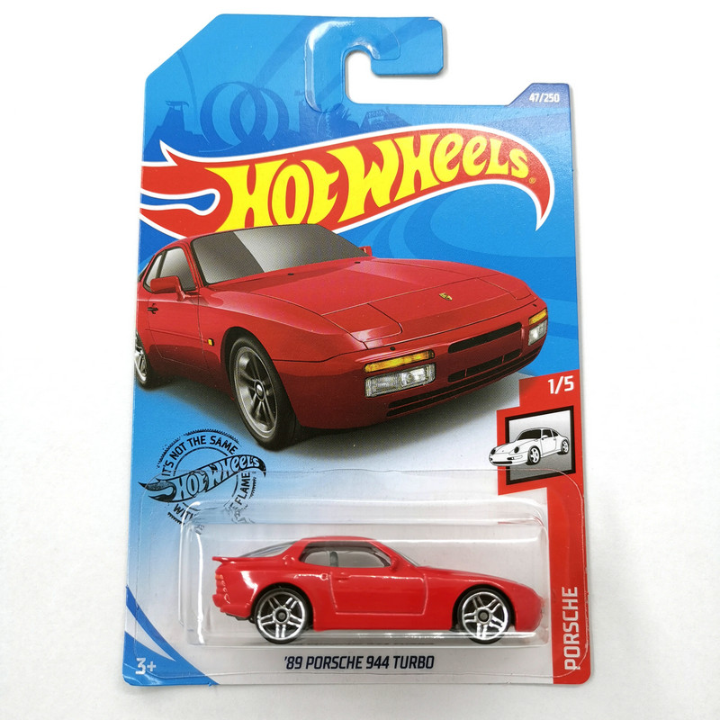 2020 Hot Wheels 1:64 Car 89 PORSCHE 944 TURBO Collector Edition Metal Diecast Model Cars Kids Toys Gift