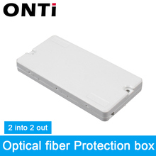 ONTi 10Pcs Optic Cable Protection Box Optical Fibe