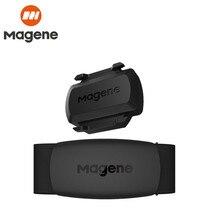 Magene H64 двойной режим Bluetooth 4,0 Ant + датчик сердечного ритма, нагрудный ремень, велосипедный компьютер, бег, пульс, Monito S3 GARMIN Cadence