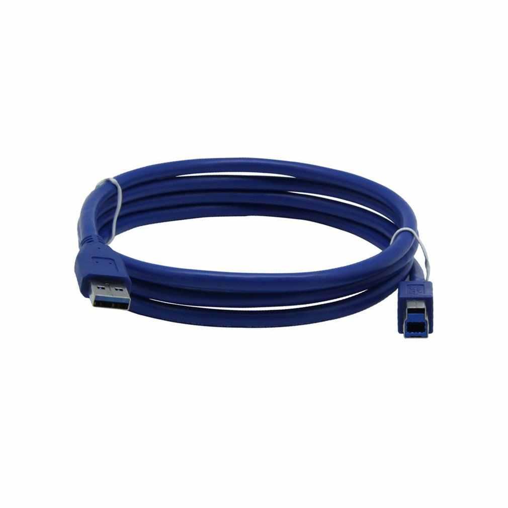 USB 3.0 Drucker Kabel Typ A Stecker auf B Männlichen Scanner Kabel High Speed Schwarz Verlängerung Kabel Drucker Kabel