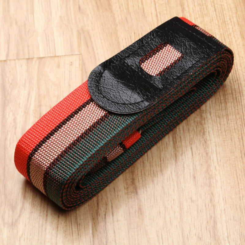Travel Luggage Suitcase Strap Rainbow Belt Adjustable Anti-theft Baggage Belts Travel Accessories