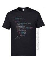 Camiseta colorida de código de programação dj, camiseta de algodão para engenharia scjp e programador de teclado