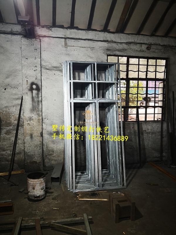 Shanghai Hench Brand China Factory 100% Custom Made Sale Australia Wrought Iron Double Front Doors
