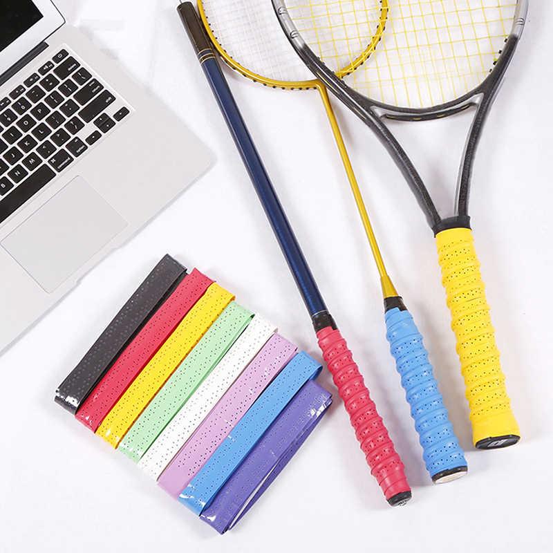 Absorb Sweat Racket Anti-slip Tape Handle Grip For Tennis Badminton Squash B lE