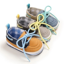Baby Boys Shoes Crib Mixed Colors Sneake