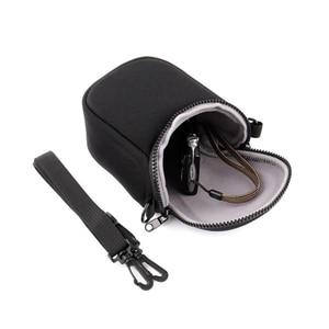 Image 4 - Su geçirmez yumuşak kamera çantası için kayış ile Canon Eos M100 M50 M10 M6 M5 M3 M2 G1Xiii G1Xii Sx530 Sx540 sx430 ve panasonic