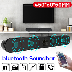 Outdoor HIFI Sound Bar USB Wired/Wireless Bluetooth Home Theater FM Radio Surround SoundBar Subwoofer for PC TV Computer