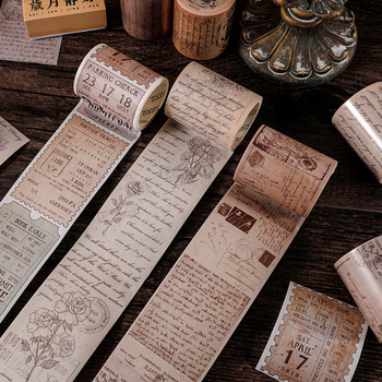 Conjunto de cintas Washi cinta adhesiva decorativa cintas Washi Washitape diario pegatinas Vintage Whasi Tape Scrapbooking