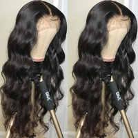 Парики из натуральных волос на фронтальной части 360, 13х6 дюймов