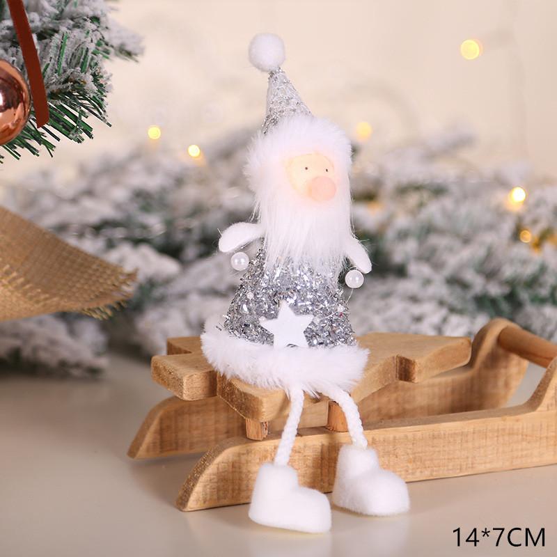 2020 New Year Gift Cute Christmas Angel Doll Xmas Tree Ornament Noel Deco Christmas Decoration for Home Natal Navidad 2019 Decor 46