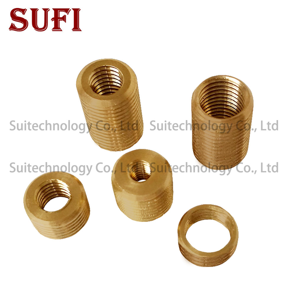 5pcs M12*1/M10*1 External Teeth M8*1/M6*1 Internal Teeth Copper Inner And Outer Braces Adapter Screw Lighting Accessories