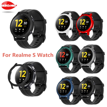 ใหม่คลาสสิกป้องกันสำหรับ Realme นาฬิกาสมาร์ทนาฬิกา Hard PC Shell Protector สำหรับ Realme นาฬิกา S สร้อยข้อมือ