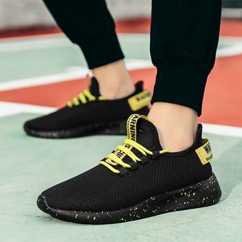Men Vulcanize Shoes Sneakers Breathable Men Casual Shoes No-slip Male Lace Up Men Shoes Lightweight Tenis Masculino Wholesale 5